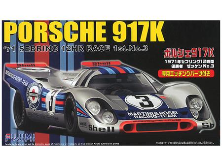 Fujimi 1/24 Porsche 917 K Sebring - 1971