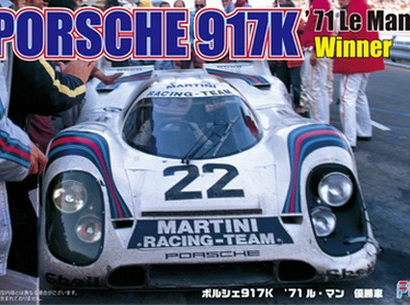 Fujimi 1/24 Porsche 917K 1971 Le Mans Winner (FUJ12614)