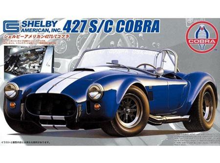 Fujimi 1/24 Shelby Cobra 427S/C w/enigine (FUJ126708)