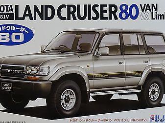 Fujimi 1/24 Toyota Land Cruiser 80VX