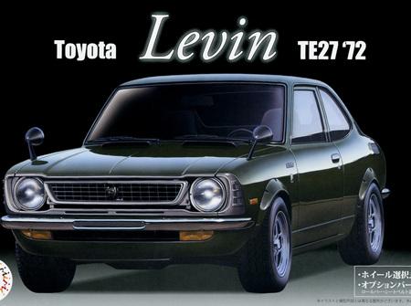 Fujimi 1/24 Toyota Levin TE27 '72 (FUJ03981)