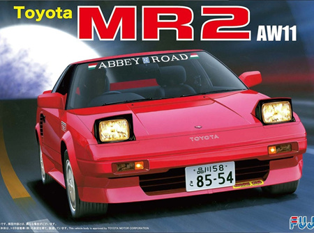 Fujimi 1/24 Toyota MR2 (AW11) (FUJ038957)