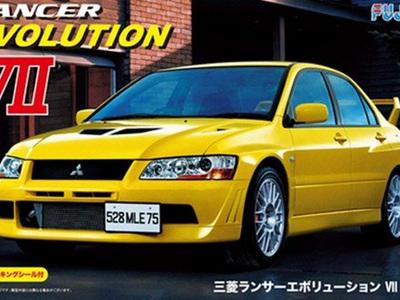 Fujimi Mitsubishi Lancer Evolution VII GSR