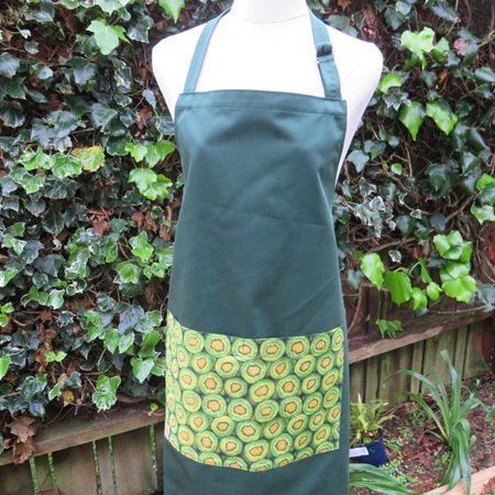 Full Apron Green Kiwifruit Pocket