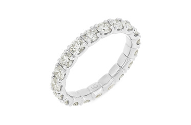 Full Diamond Eternity Ring 1.90ct-2.10ct