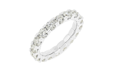 Full Diamond Eternity Ring 2.55ct-3.15ct
