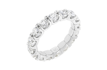 Full Diamond Eternity Ring 3.20ct-4.00ct