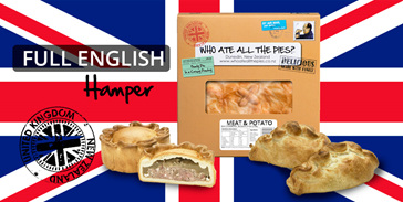 'FULL ENGLISH' GOURMET PIE HAMPER