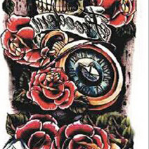 Full Sleeve Tattoo Sticker 48cm x 17cm