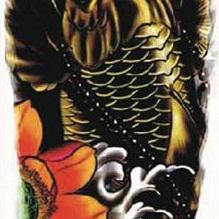 Full Sleeve Tattoo Sticker 48cm x 17cm
