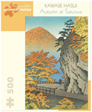 Pomegranate 500 Piece Jigsaw Puzzle  KAWASE HASUI: AUTUMN AT SARUIWA