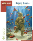 Pomegranate 500 Piece Jigsaw Puzzle  ROBERT BISSELL: THE SWIMMER