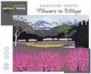 Pomegranate 500 Piece Jigsaw Puzzle  KAZUYUKI OHTSU: FLOWERS IN VILLAGE