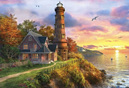 Holdson's 1000 Piece Jigsaw Puzzle: Lighthouse Point