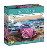 Blue Opal 1000 Piece Jigsaw Puzzle Artist Jenny Sanders: Dune Bug