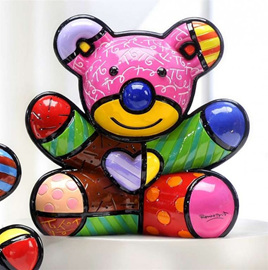 Fun Bear Ornament - Romero Britto