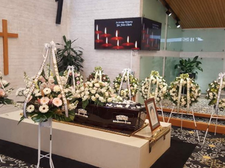 Funeral Tributes- Church Arrangements