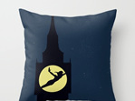 Funky cushion cover for kids room - Peter Pan