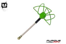 FuriousFPV STUBBY 37mm 5.8Ghz U.FL RHCP & LHCP Circular Antenna