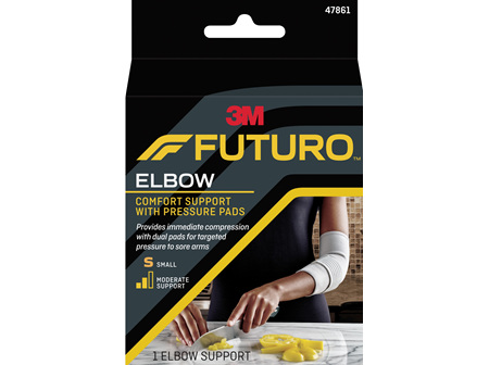 Futuro Comfort Elbow Support With Pressure Pads, Small