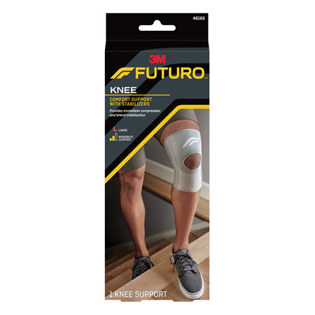 Futuro Comfort Knee With Stabilisers, Large