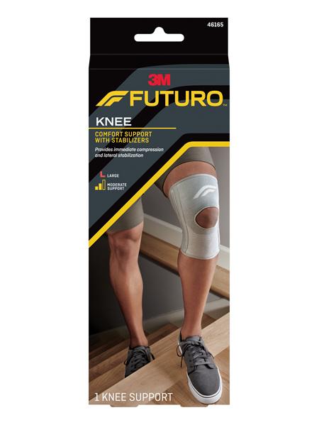 Futuro Comfort Knee With Stabilisers, Large