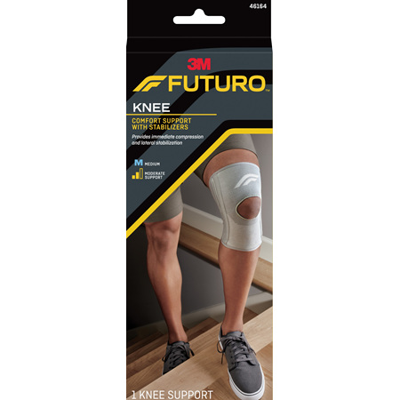 Futuro Comfort Knee With Stabilisers, Medium