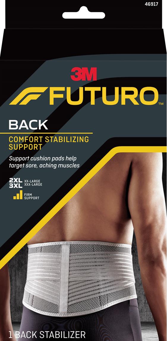 Futuro Comfort Stabilising Back Support, 2Xl/3Xl