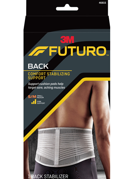 Futuro Comfort Stabilising Back Support, Small/Medium