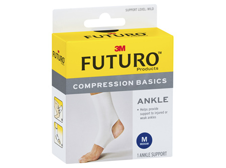 Futuro Compression Basics Elastic Ankle Brace - Medium