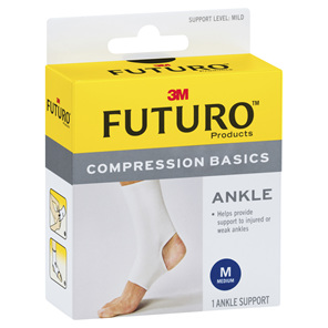 Futuro Compression Basics Elastic Ankle Brace - Medium