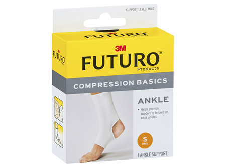 Futuro Compression Basics Elastic Ankle Brace - Small
