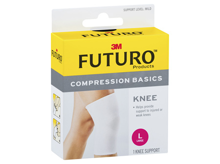 Futuro Compression Basics Elastic Knee Brace - Large
