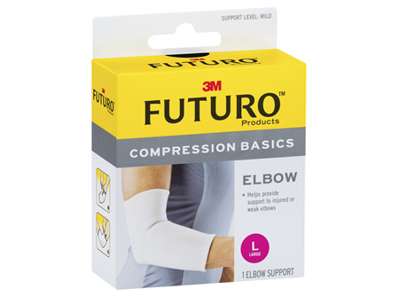 Futuro Compression Basics Elastic Knit Elbow - Large