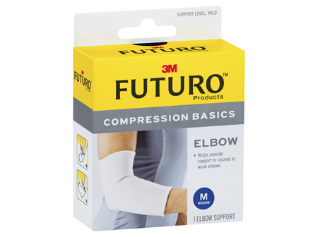 Futuro Compression Basics Elastic Knit Elbow - Medium