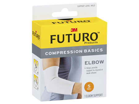 Futuro Compression Basics Elastic Knit Elbow - Small