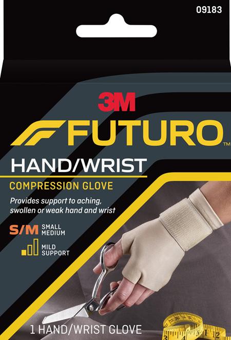 Futuro Compression Glove, Small/Medium