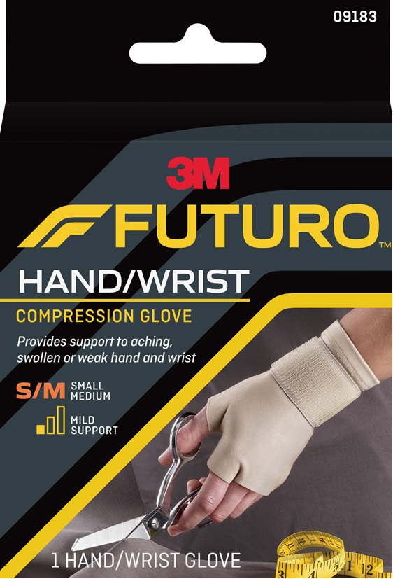 Futuro Compression Glove, Small/Medium
