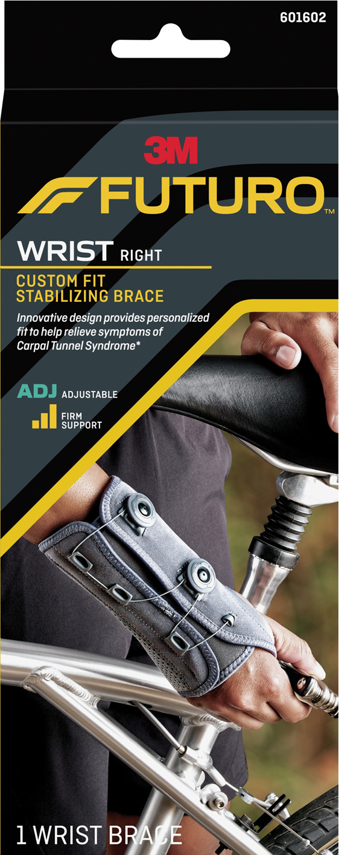 Futuro Custom Fit Stabilising Wrist Brace, Right Hand, Adjustable