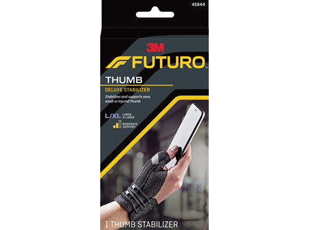Futuro Deluxe Thumb Stabiliser, Large/Extra Large, Beige