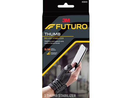 Futuro Deluxe Thumb Stabiliser, Small/Medium