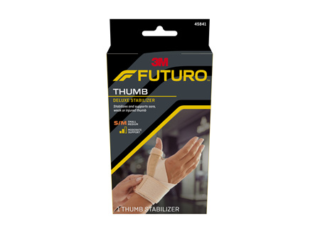Futuro Deluxe Thumb Stabiliser, Small/Medium, Beige