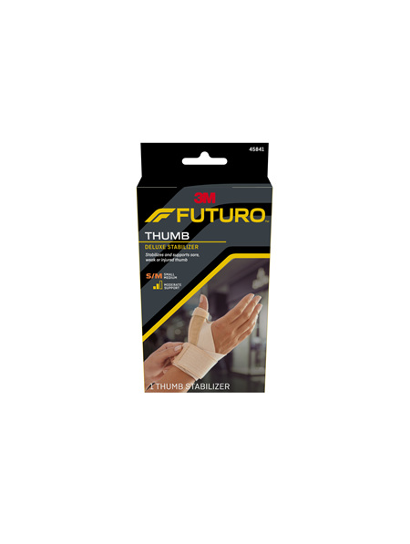 Futuro Deluxe Thumb Stabiliser, Small/Medium, Beige
