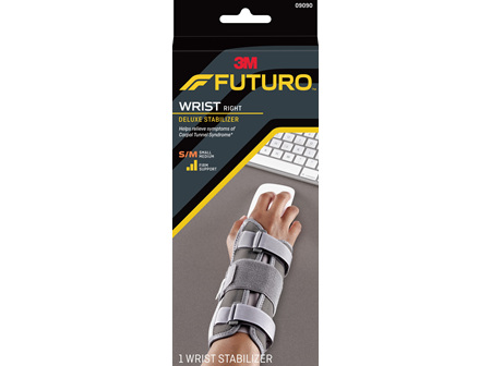 Futuro Deluxe Wrist Stabiliser, Right Hand, Small/Medium