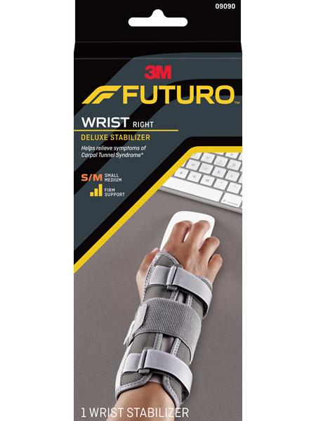 Futuro Deluxe Wrist Stabiliser, Right Hand, Small/Medium