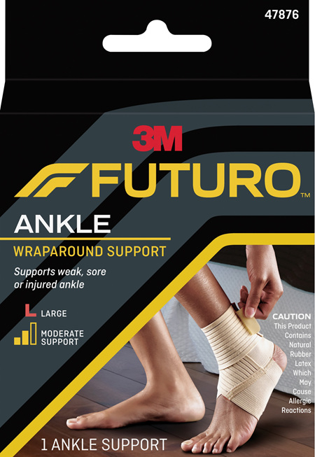 Futuro Wrap Around Ankle Support, Large