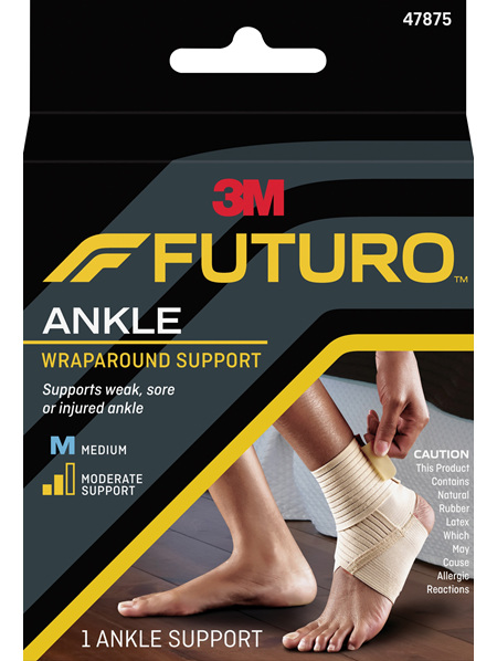 Futuro Wrap Around Ankle Support, Medium