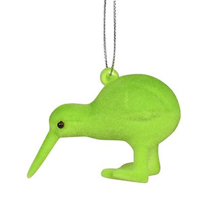 Fuzzy Flock Kiwi: Green