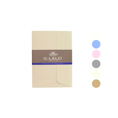 G Lalo Verge de France envelopes - C6
