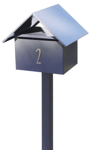 Gable Roof Letterbox